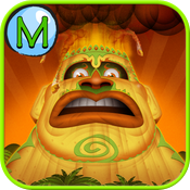 Welcome to Monster Isle in 3D - A Peek 'n Play Story App icon