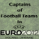 Captains of Football Teams In Euro 2012