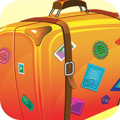 Packing + To Do -Travel icon