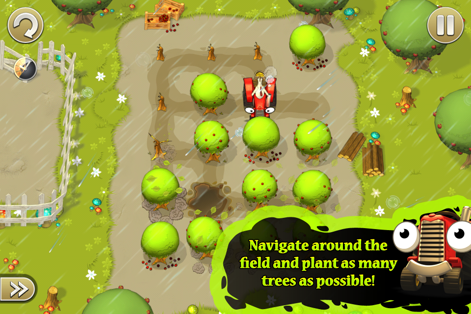 Free Tractor Trails iPhone Game