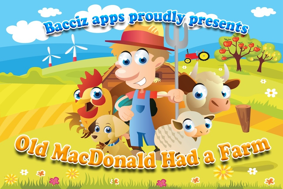 Old macdonald had a farm - 3d animation english nursery rhymes  songs for children (hd)