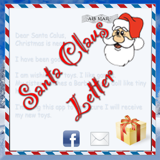 Santa Claus Letter: Merry Christmas