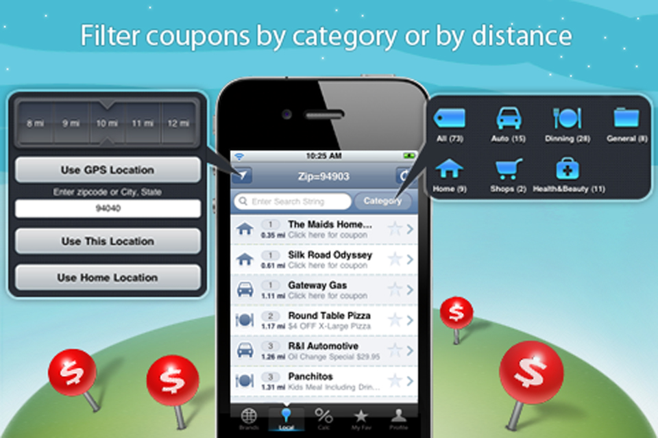 Shopping coupon apps for iphone