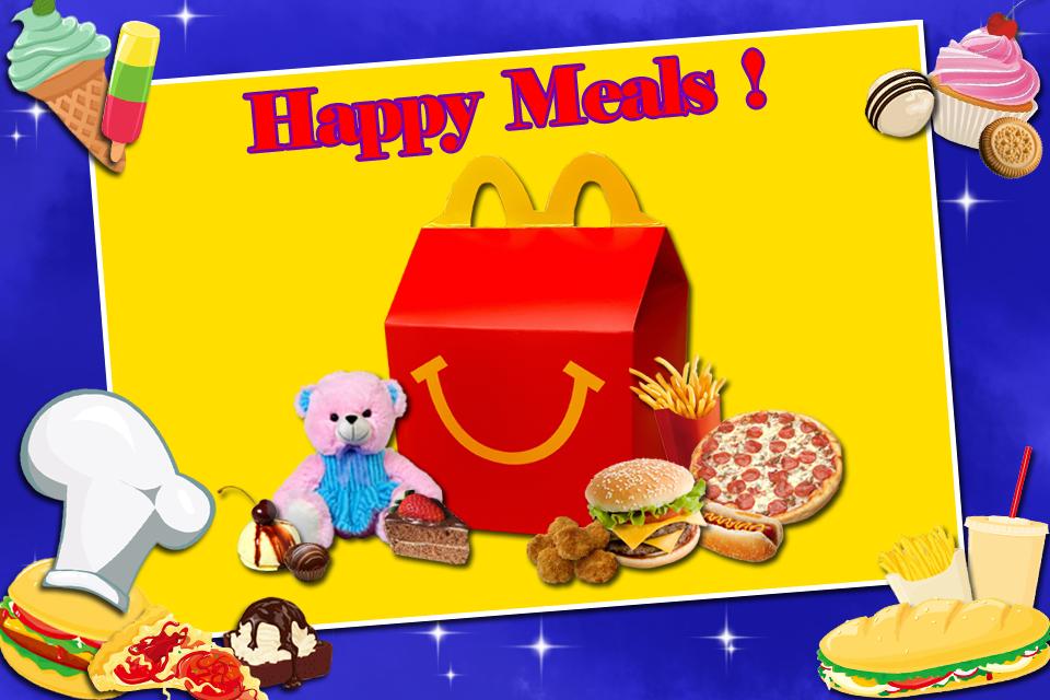 Happy Meal Maker screenshot 1