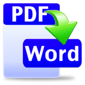 Hewbo PDF to Word Converter icon
