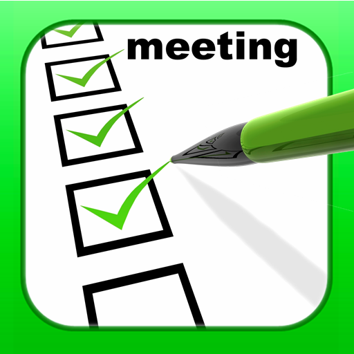 Check list for a meeting