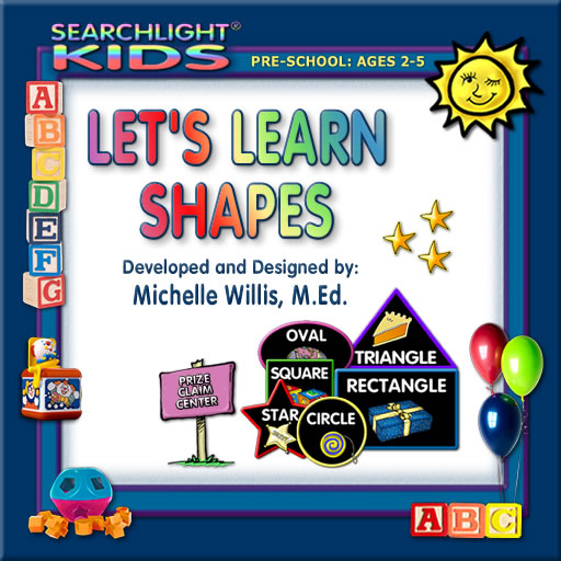 Searchlight ® Kids: Let's Learn Shapes