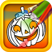 Color & Draw Halloween: coloring book for kids icon