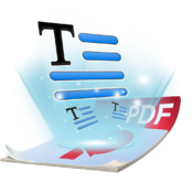 PDF to Text-PDF Converter