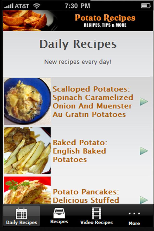 Potato Recipes!!