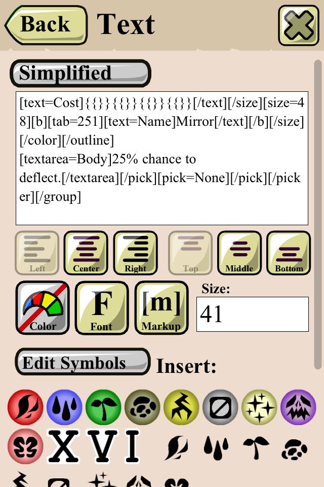 Online Trading Card Maker