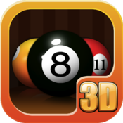 Pool 3D icon