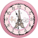 Paris Girls Clock