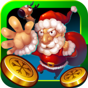 Coin Christmas icon