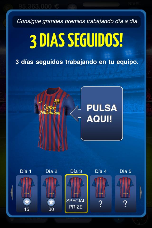 FC Barcelona Fantasy Manager 2012 screenshot 5