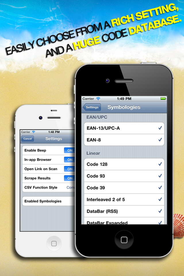 Barcode & QR Code Reader screenshot 4