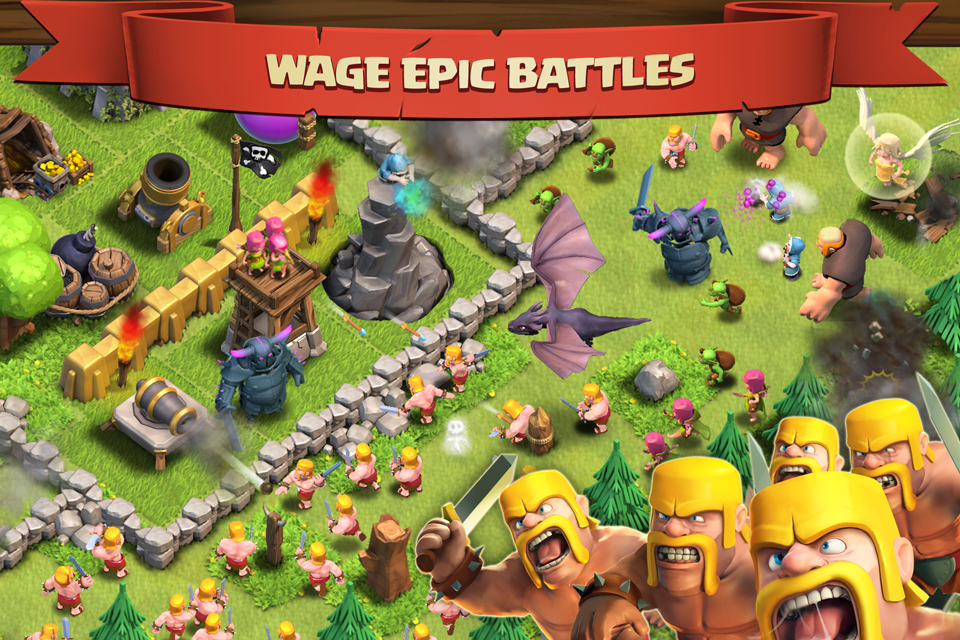 Clash of Clans Now Live on the App Store!