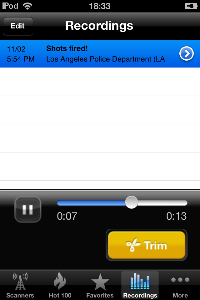 Scanner911 Police Radio Pro screenshot 2