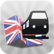 UK Transit Maps  maps for Metro, Underground, Train and Buses  by Maplets icon