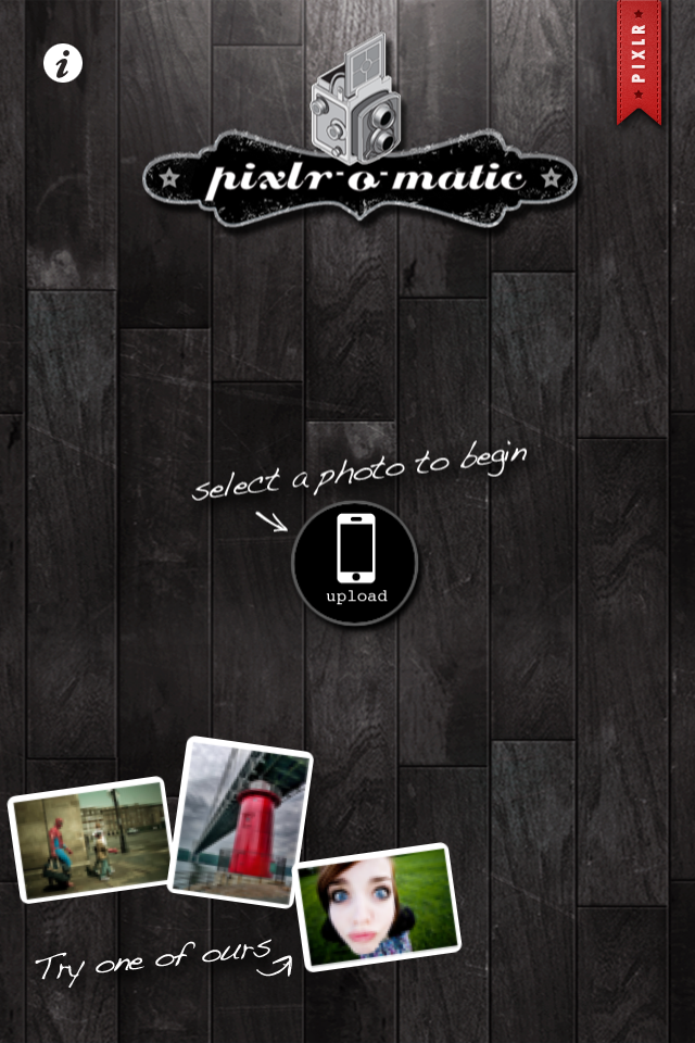 Pixlr-o-matic Captures Retro Grunge for Your iPhotos