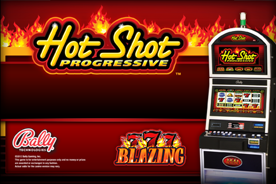 hot shot progressive free play