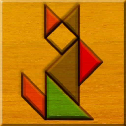 Big Block Tangram Puzzle
