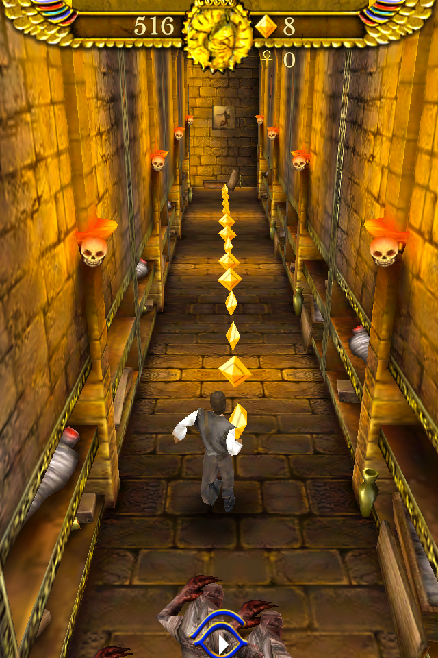 Pyramid Run screenshot 1