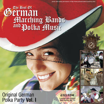 Original German Polka Party, Vol. 1: The Best of German Marching Bands and Polka Music – Various Artists