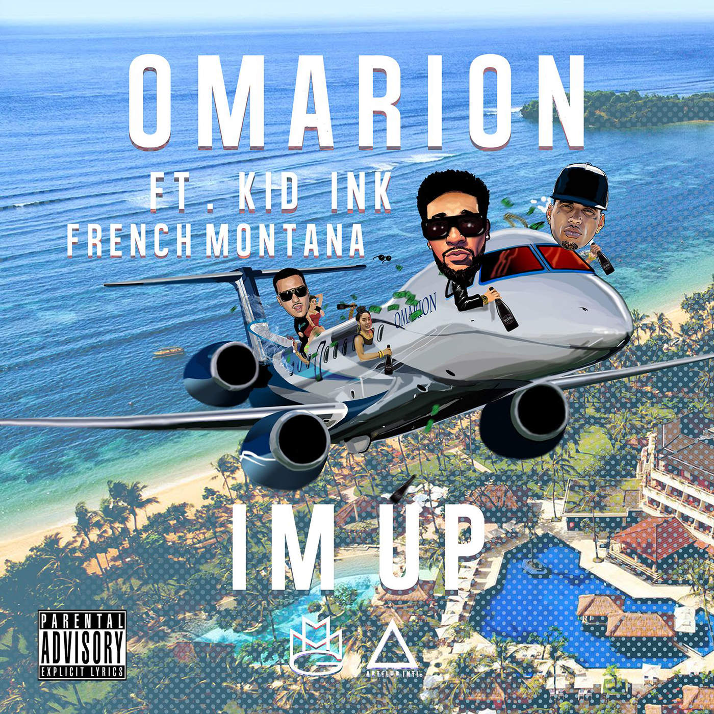 Omarion   I'm Up  feat  Kid Ink   French Montana   2015 Single  complet en francais