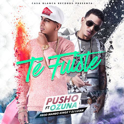 View album Te Fuiste (feat. Ozuna) - Single
