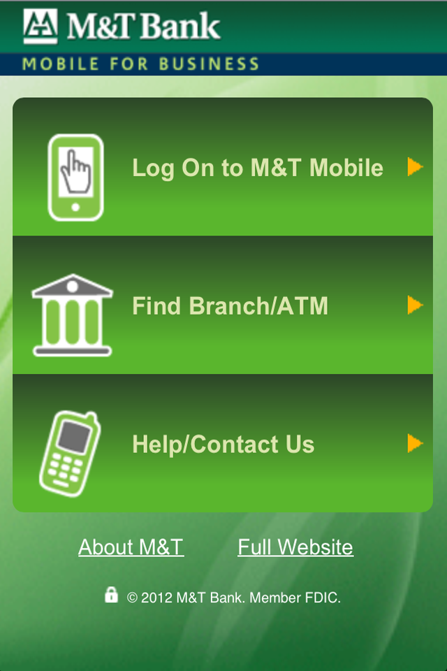M&T Mobile for Business screenshot 1