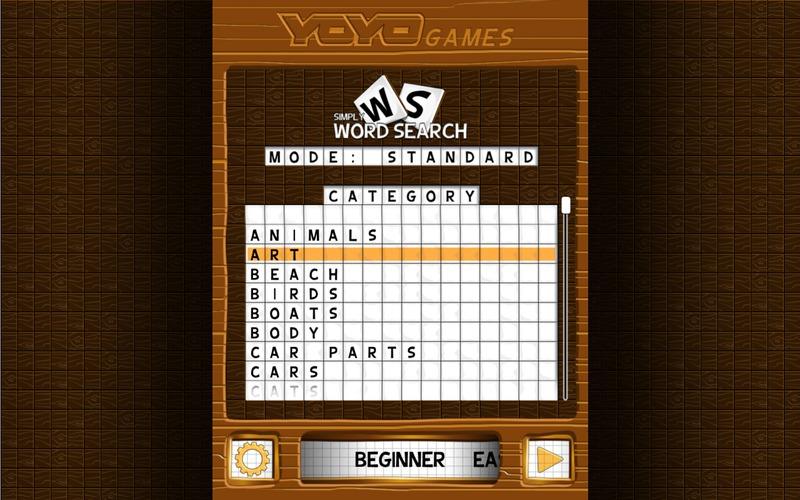 Simply Word Search Screenshot - 2