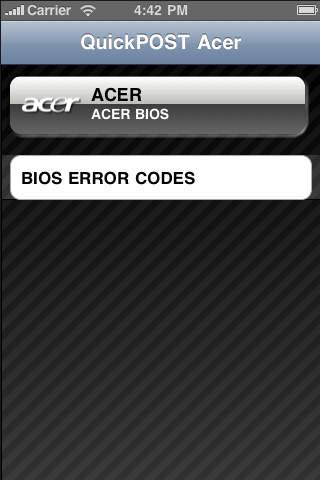 QuickPOST Acer