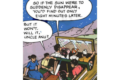ANU CLUB DIGEST - Amar Chitra Katha Comics ( Tinkle SCIENCE Collection )