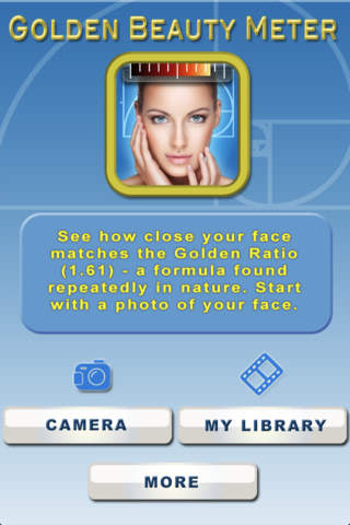 golden beauty meter  using the golden ratio to score your