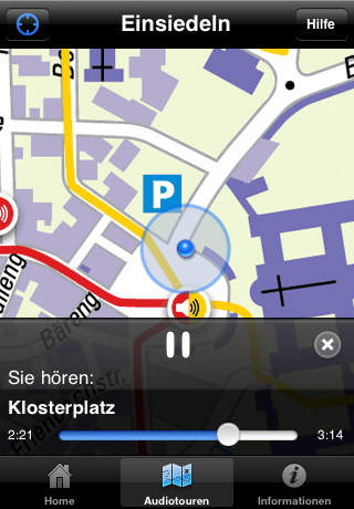 Einsiedeln Audioguide screenshot 2