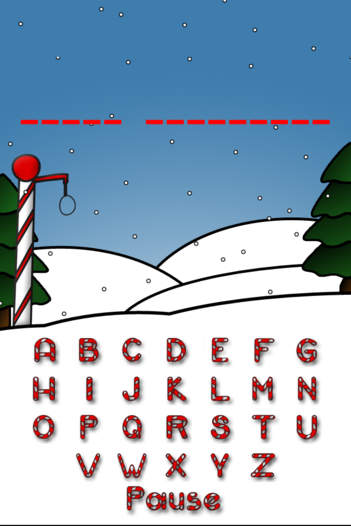 Christmas Hangman - Happy Holidays To All! - iPhone Mobile Analytics and App Store Data