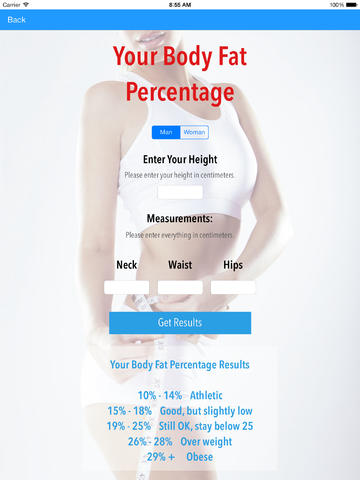 DIET CALCULATOR PRO - RMR BMI BODY FAT MORE