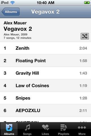 Noise Entertainment System iPhone Screenshot 3