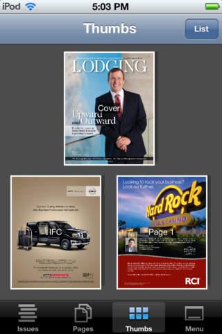 Lodging Magazine Mobile