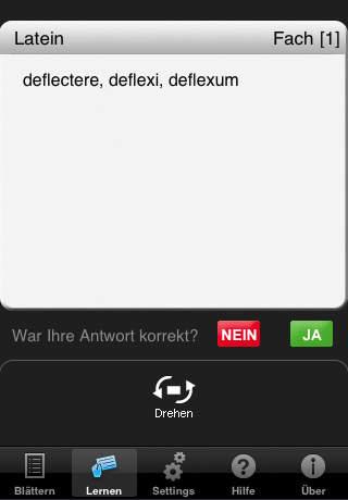 Murken-Vokabeltrainer Medizinische Terminologie iPhone Screenshot 2
