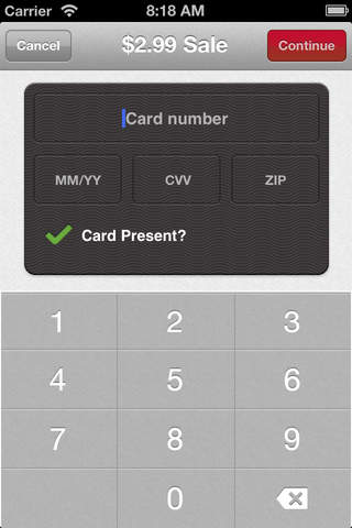 Mobile Pay - Bank of America Merchant Services screenshot 2