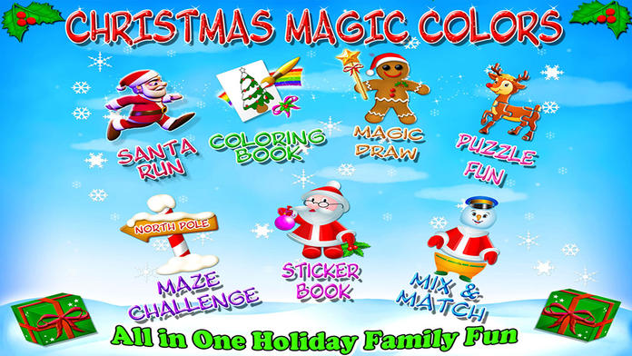 Christmas Magic Colors - All in one Holiday Family Fun - iPhone Mobile Analytics and App Store Data