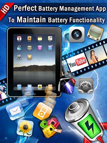 best battery manager hd pro ipad. Black Bedroom Furniture Sets. Home Design Ideas
