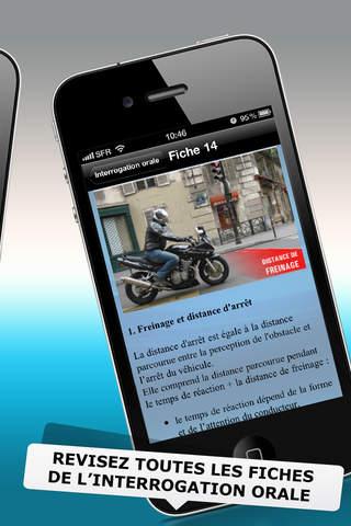 Permis moto iPhone Screenshot 3