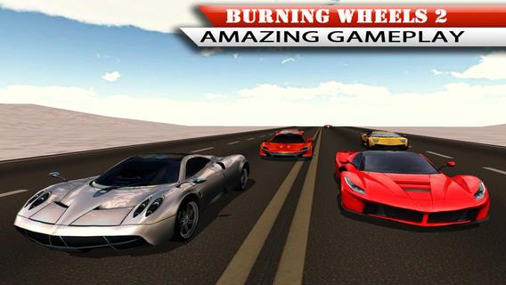 Burning Wheels 2 - 3D Racing