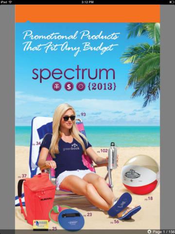 The Spectrum Catalog