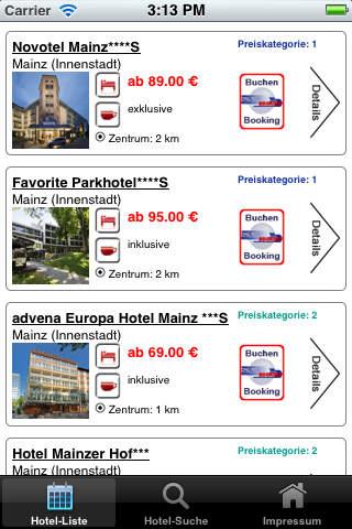 免費旅遊App|Hotels Mainz|阿達玩APP