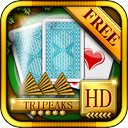 ACC Solitaire [ TriPeaks ] HD Free - Classic Card Games for iPad & iPhone mobile app icon