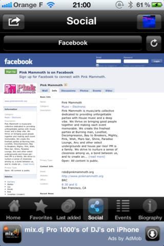 Pink Mammoth by mix.dj iPhone Screenshot 4